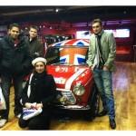 4 apprentis à Londres